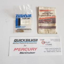 1399-1473 Mercury Tillotson Carburetor Entrada Asiento de aguja
