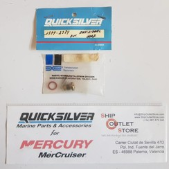 1399-2584 Mercury Borg Warner Carburetor Inlaatnaald zitting