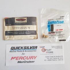 1399-2015 Mercury 233 703P Tillotson Naald en zitting reparatie kitt