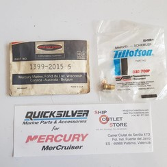 1399-2015 Mercury 233 703P Tillotson Needle & seat repair kit