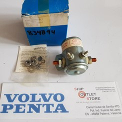 834894 Volvo Penta Solenoide del actuador 12V