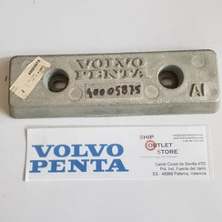 40005875 Volvo Penta Barra de ánodo  de aluminio de 1.5 kg