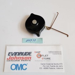 388933 Evinrude Johnson OMC Cap with vent assembly