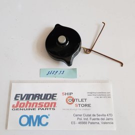 OMC Evinrude Johnson 388933 Evinrude Johnson OMC Cap with vent assembly