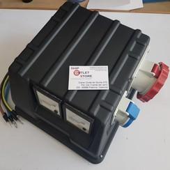 Schaltschrank zur Stromverteilung des Generators 400V - 63A - 44 kVA