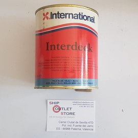 International Slip resistant deck paint International Interdeck BLUE