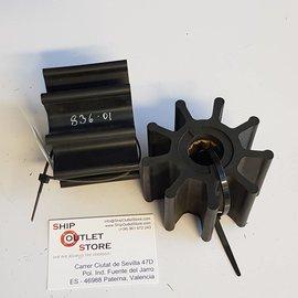 Jabsco 836-0001-P Jabsco Impeller neoprene