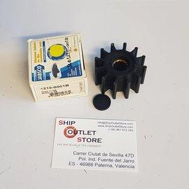 Jabsco 1210-0001B Jabsco Impeller 12 blades neoprene