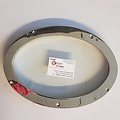 Oval porthole Inox  size 250 x 380mm