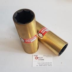 Wassergeschmierte Gummi Bronze Lagerbuchse 50 mm Caravel