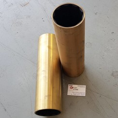 Hydro lubricated rubber bronze bearing  95 mm Caravel