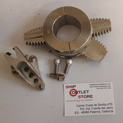 Stripper AM15 Shaft rope cutter 2 blades Inox diam. 50mm