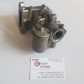 Bing Carburetor Bing 8/25/63 with manifold