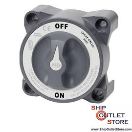 Blue Sea Battery switch 600A On-Off HD-Series 3001