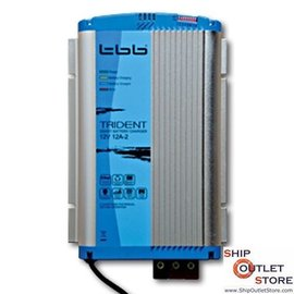 TTB Battery charger automatic 2x exit -12V -12A Trident TTB