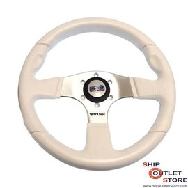 GS Steering wheel anodized aluminum Atlantic