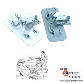 GoldenShip Snap davits kit with Inox construction for inflatable boats