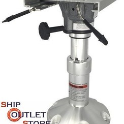 Telescopic air ride pedestal  with swivel & slider 350-450mm 73258