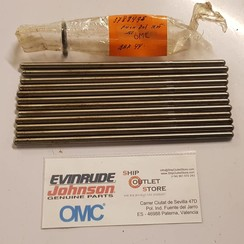 3788495 OMC Evinrude Johnson 12x Push rod for 6 cyl. 165hp
