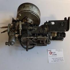 Motorblok Mercury 1 cilinder met carburateur en starter