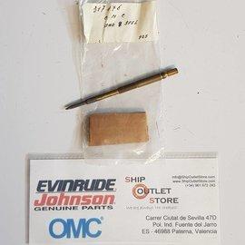 Válvula de aguja, baja velocidad Evinrude Johnson OMC 317176
