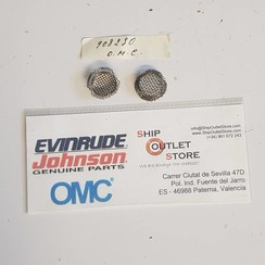 Raw water intake screen Evinrude Johnson OMC 908230