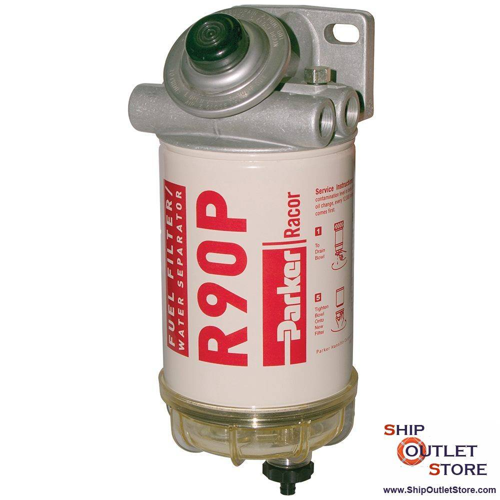 #67 RACOR SNAPP Marine Gas Fuel Filter Water Separator with drain valve