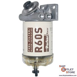 Fuel filter with water seperator and priming pump Racor 460R2