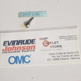 Pasador de pivote con junta tórica Evinrude Johnson OMC 308376
