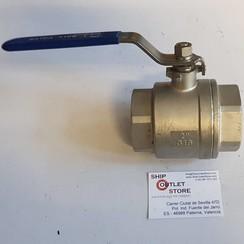 "Ball valve stainless steel 2"" DIN 40 -316"