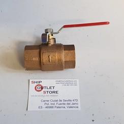 "Ball valve bronze 1"""