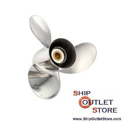 Inox propeller Solas TITAN for Volvo Penta Aquamatic