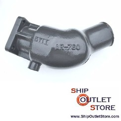 Exhaust elbow Perkins 135616660