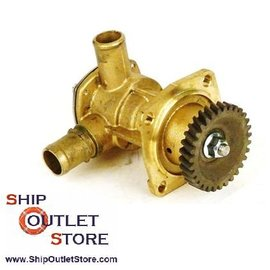 Bomba agua de motor 3JH - 4JH Yanmar 129271-42502