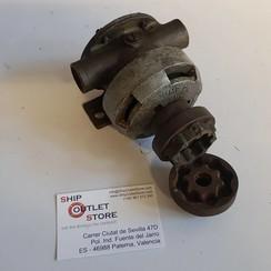 Water pump bronze with flex coupling Jabsco 6490-200