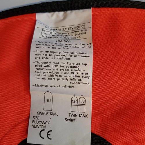Trim jacket Size L IST Proline