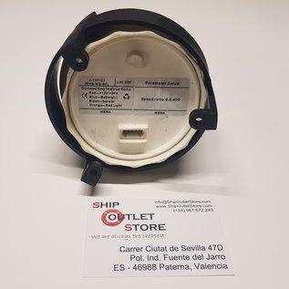 Toerenteller 0 - 6000 met urenteller 12 - 24V  diam 85mm Wema