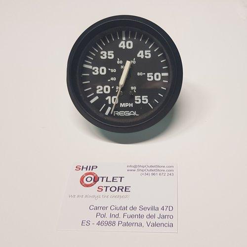 Velocímetro 0 - 55 mph. Regal SE9481B