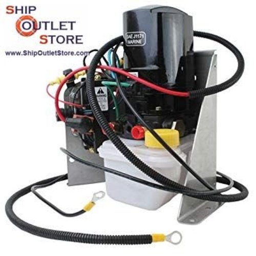 Mercury Trim tilt motor assembly with kabels and bracket Mercruiser 414336A6 - 88183A9