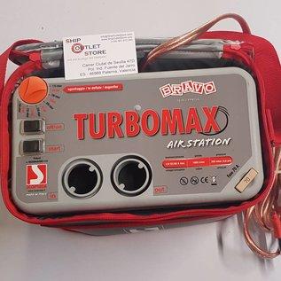 Bravo Bravo Turbo max bomba de aire 12V Inflador eléctrico
