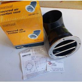 Vetus Ventosa de aire con rejilla de Inox 110mm  Vetus ERV110