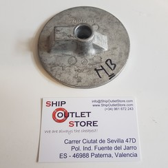 76214-4 Mercury Pestaña de ajuste del ánodo de aluminio
