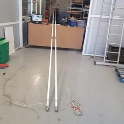 Shakespeare Galaxy 5309-R VHF antena 7 metros