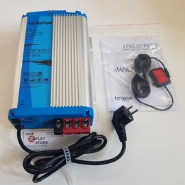 TTB Battery charger automatic 3x exit -12V -25A Trident TTB
