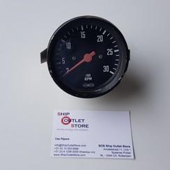 VDO Toerenteller 3000 rpm