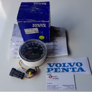 Volvo Penta Tachometer 6000 rpm Volvo Penta  881647
