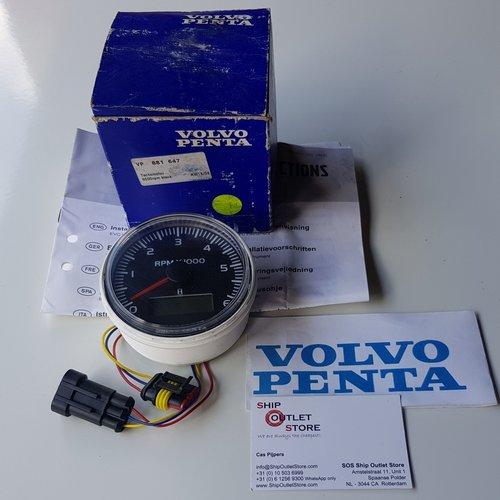 Volvo Penta Toerenteller 6000 rpm EVC Volvo Penta 881647