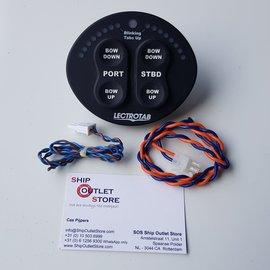 Lectrotab Trim Tab control panel 12V -24V Lectrotab SETR-61