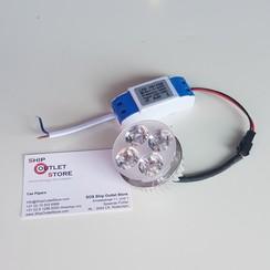 Led unit with cooling element and inverter 230V Led Driver