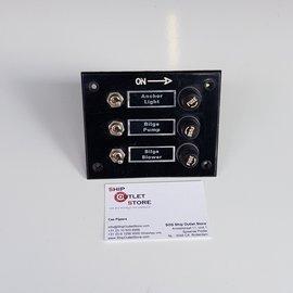 Panel de interruptores con fusibles
